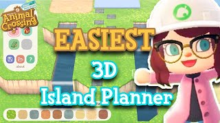 The EASIEST 3D Island Planner For Designing Your Animal Crossing: New Horizons Island