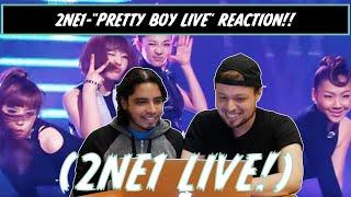 """AMERICANS REACT/REVIEW (2NE1)-""""PRETTY BOY LIVE""""!!"""