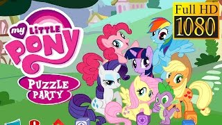 My Little Pony: Puzzle Party Game Review 1080P Official Backflip Puzzle Brain Games 2016