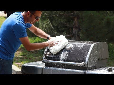 Barbeque Grill Detail Part One   Washing & Cleaning   - YouTube - YouTube