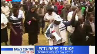 News Centre - 23rd February 2018 - Why Lecturers are going back to the streets, yet again