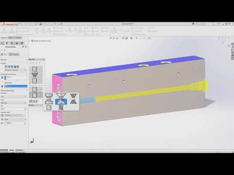 SOLIDWORKS Advance Hole Feature for Creating Multistepped holes in Single Operation