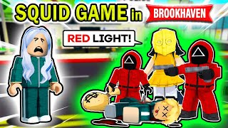 SQUID GAME IN BROOKHAVEN (Roblox Brookhaven RP 🏠)