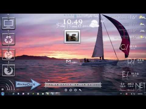 Làm đẹp desktop (Win 7)
