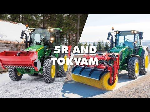 John Deere traktor 5090R 90hk - film på YouTube