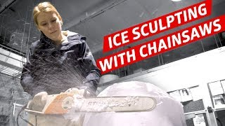 Learning To Carve Ice With Ice Sculptor Shintaro Okamoto — How To Make It