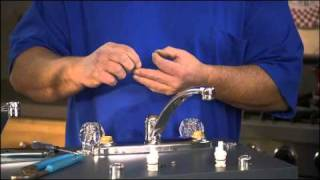 How do I replace the stem in my double handle faucet? Part 3