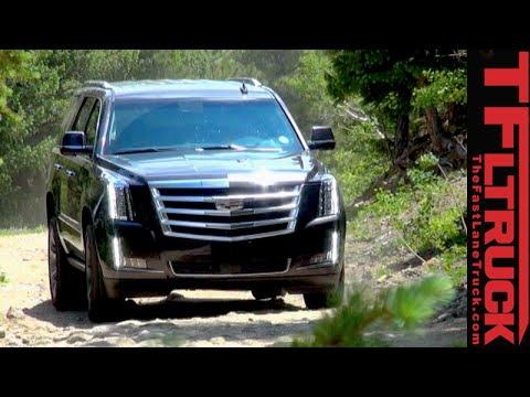 2015 Cadillac Escalade Off-Road Review: Slade Finally Gets Dirt Under the Nails
