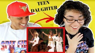 Teen Daughter Reacts To Dads 90s Music | Angie Martinez Lil Kim Left Eye Da Brat - Ladies Night