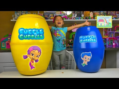 BUBBLE GUPPIES SURPRISE EGGS World's Biggest Surprise Egg Nickelodeon Cartoon Show Toy Surprises Kid