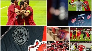 preview picture of video 'Stimmung - Champions League 2014/2015 - Bayer 04 Leverkusen - Atletico Madrid (1:0)'