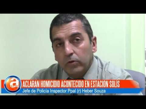 Aclaran Homicidio en Estación Solís