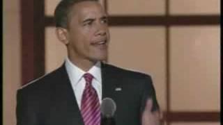 Obama Accepts Historic Democratic Presidential Nomination