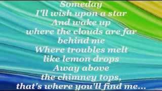 OVER THE RAINBOW (Lyrics) - JUDY GARLAND