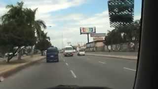 preview picture of video 'Entering Santo Domingo via autopista 1 in Dominican Republic'