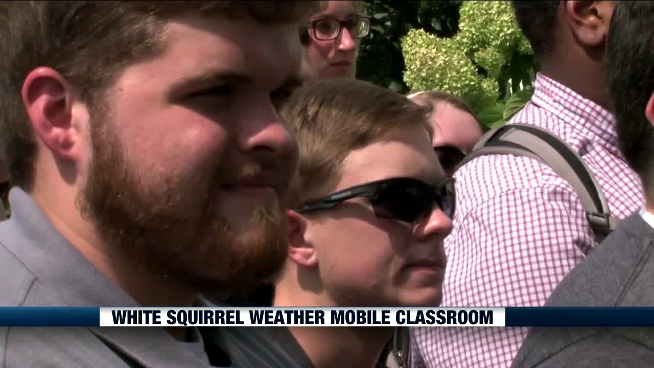 View from the Hill - White Squirrel Weather Mobile Classroom Video Preview