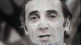Charles Aznavour - Mourir d ' aimer (traducere romana)