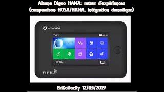 digoo dg-hama alexa wireless home and business security alarm system