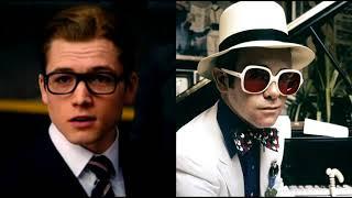 Elton John AND Taron Egerton Mixed Together I'M STILL STANDING