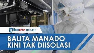 Balita Asal China yang Diisolasi di Manado, Kini Dikeluarkan dari Rumah Sakit
