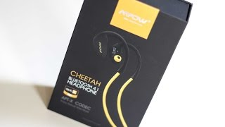 Mpow Cheetah Bluetooth 4.1 Wireless Headset, Review, Test, Deutsch
