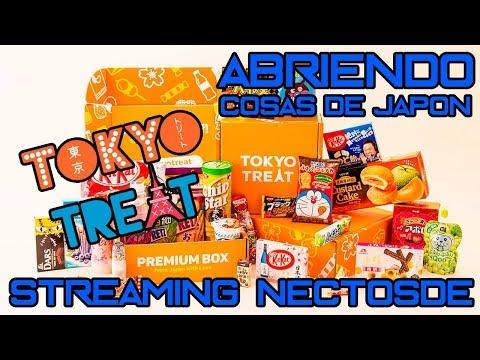 STREAMING ABRIENDO CAJA DESDE JAPON | TOKYO TREAT | NECTOSDE