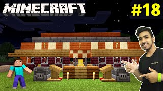 BIG VILLAGERS HOUSE IN MY CASTLE | MINECRAFT GAMEPLAY #18