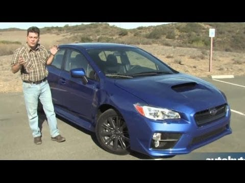2015 Subaru WRX Test Drive Video Review