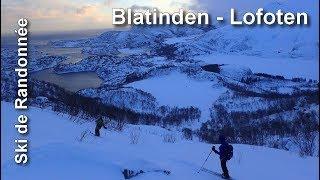 Ski de randonnée aux Lofoten - Blatinden