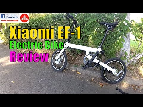 Xiaomi EF-1 Electric Bike – Full Review