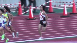 陸上Women-C800m決勝Finalジュニアオリンピック2013.10.27