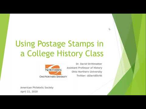 APS Stamp Chat: Stamps in college classrooms