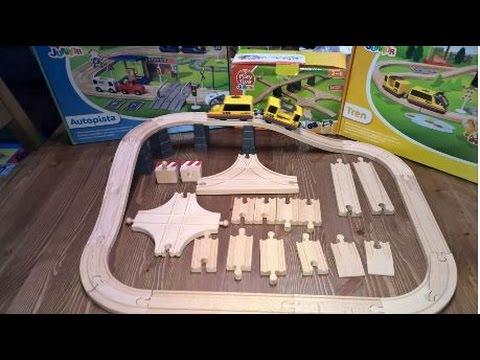 Set de ampliación de vías de madera de PlayTive Junior de Lidl #Lidl