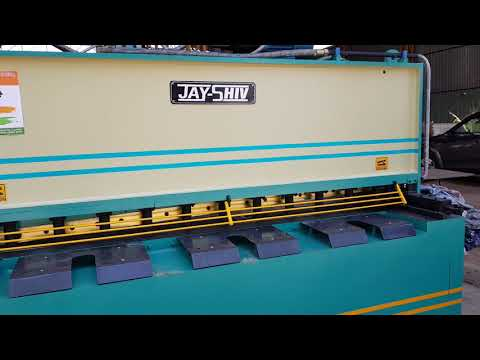 JHVR-1015 Hydraulic Shearing Machine