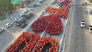 ชาวอุดรออนซอนหลายที่ได้สะพาน ชื่นบานมักคักอุโมงค์อุดร สู่อินโดจีน