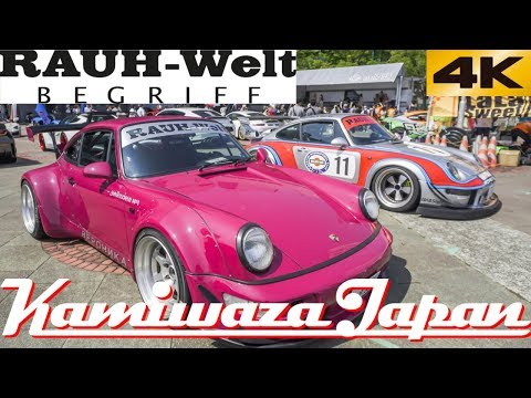RWB Martini Porsche 993 and Rauh Welt Porsche 964 Veronika