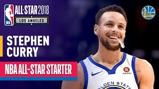 Stephen Curry 2018 All-Star Captain | Best Highlights 2017-2018