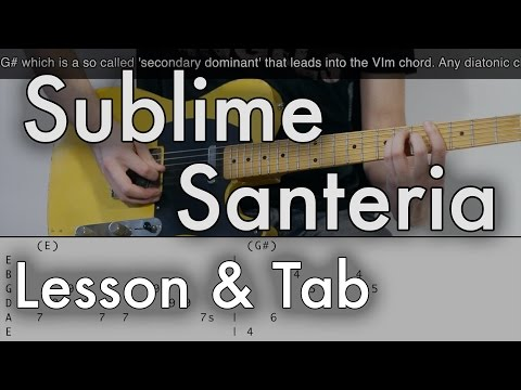 Sublime Santeria Wiki Ultimate Guitar