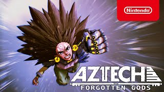 Nintendo  Aztech Forgotten Gods - Announcement Trailer - Nintendo Switch anuncio