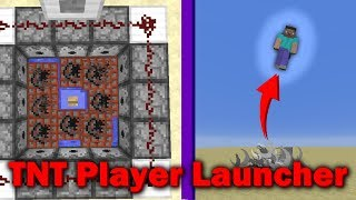 Minecraft   How To Build A TNT Player Launcher