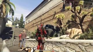 THE FLASH + DEADPOOL Vs PROSTITUION! (GTA 5 Mods Funny Moments)