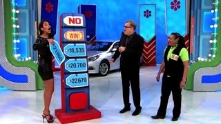 'Price Is Right' Model Accidentally Gives Away a Car to Contestant!