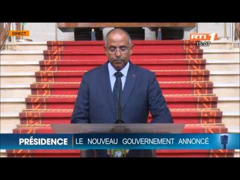 NOUVEAU GOUVERNEMENT AMADOU GON COULIBALY DU 10 JUILLET 2018 : COMMUNIQUE DE LA PRÉSIDENCE DE LA RÉPUBLIQUE.