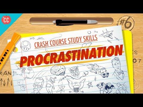 Procrastination: Crash Course Study Skills #6