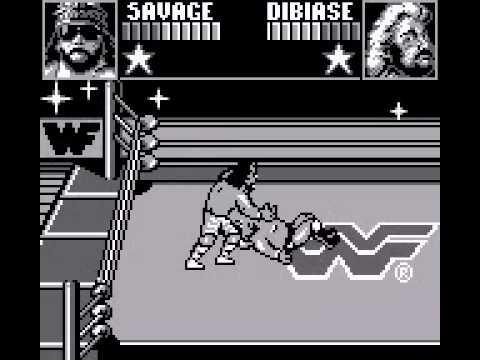 WWF Superstars Game Boy
