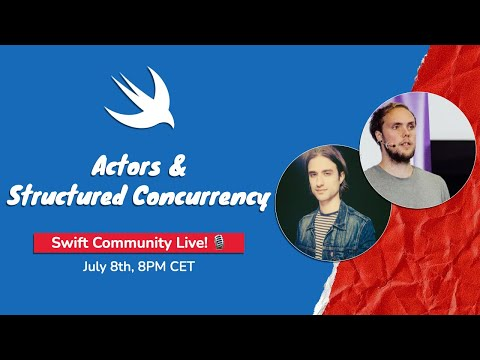 Actors & Structured Concurrency, Live! 🎙 with Donny Wals thumbnail