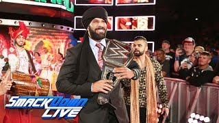 Witness Jinder Mahal's Punjabi Celebration: SmackDown LIVE, May 23, 2017