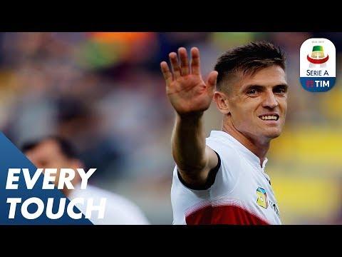 Krzysztof Piątek v Frosinone | Every Touch | Serie A