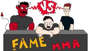 FAME MMA DANIEL vs POLAK ANIMACJA