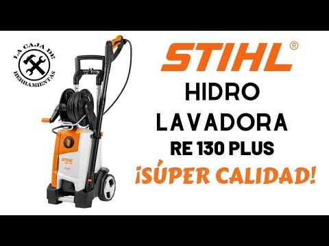 Hidrolavadora STIHL RE130 PLUS con motor SIN CARBONES!